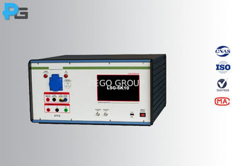 China 300 V EMC Test Equipment , Lightning Surge Generator PLC Touch Screen supplier