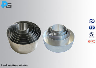 Standard Induction Element Test Pots / Vessels / Pans Test For Household Electric Cooking Appliance
