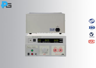 50Hz/60Hz Electrical Safety Test Equipment 10KV AC DC With Leakage Current Alarming Function