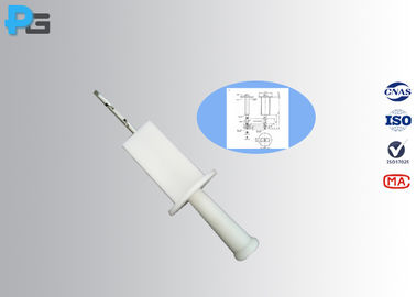 10 N Force Jointed Test Finger , IEC60529 Test Probe B Easy Operation